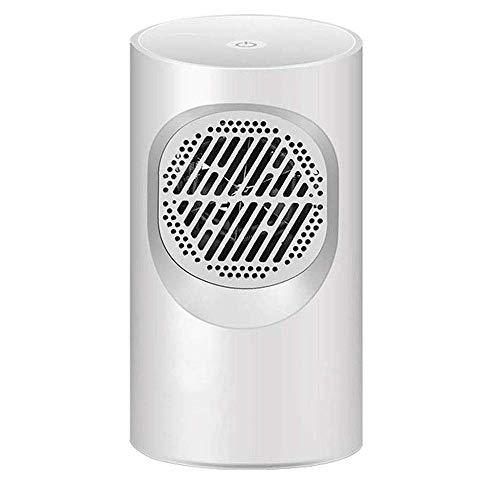 ROLL Calentador de ventilador portátil, hogar 2 En 1 ahorro de energía mini escritorio del calentador...