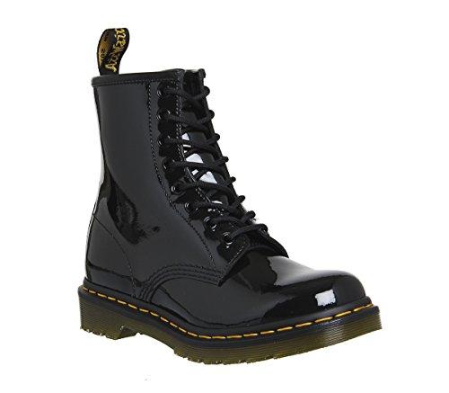 Dr. Martens Opal Steel Toe, Zapatos de Seguridad para Mujer, Gris (Dark Gull Grey 030), 39 EU