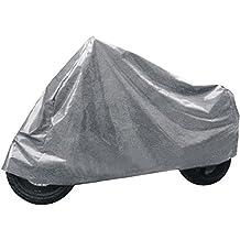 takestop® Motorrad-Abdeckplane, wasserabweisendes Nylon, PVC, schützt vor Eis, Sonne, Schmutz, Tieren, für Motorräder und Motorroller, Größe M, 120x210cm