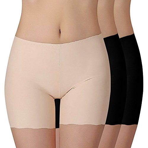 k Sommer Retroshorts Weich Panties Boyshort Sicherheits Shorts Elasthan Kurz Leggings Tanz Unterrock Kleid Rock ()