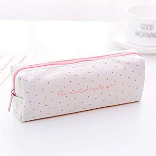 Jaminy Pencil Bags Pencil Box Multi-Functional Felt Bag Zipper Bag for Pens, Pencils, Highlighters-Gel Ink Pens, Markers and Other School Supplies a