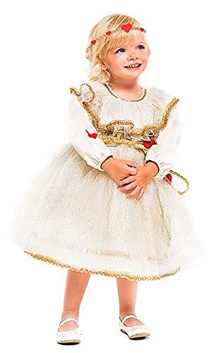 Kostüm Amor Mädchen - KOSTUumlM Fasching Karneval Amor fuumlr KARNAVALKOSTUumlME Fancy Dress Halloween Cosplay Veneziano Party 52367 Size 3