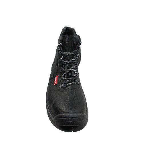 Bellota S3 SRC Sicherheitsschuhe Arbeitsschuhe Berufsschuhe Businessschuhe Trekkingschuhe hoch Schwarz Schwarz