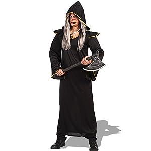 Carnival Toys - Disfraz demonio en bolsa, talla única, color negro (82117)
