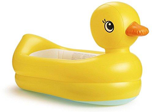 Lalia XL Aufblasbare Badewanne für Ihr Baby, Ente, gelb, Pool, Babypool für die Wanne oder den Garten. Zum plantschen und zum Spielen. - Ente Badewanne Gelbe