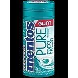 Mentos Pure Fresh Sugar Free Chewing Gum, Wintergreen, 29g