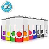 Cle USB 2.0 Clé USB Stockage Mémoire Flash Drive Clef USB Pivotantes Cadeau pour...