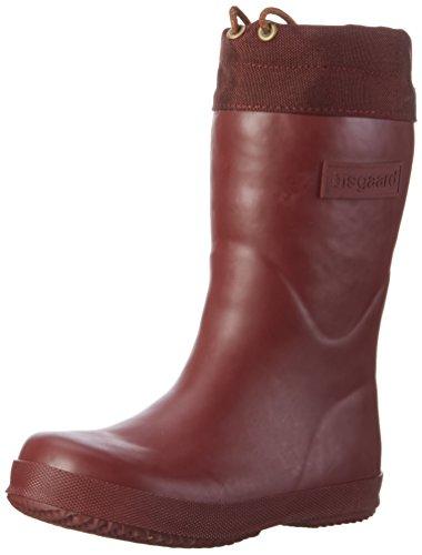 Kinder Stiefel Rot - Bisgaard Unisex-Kinder Winter Thermo Gummistiefel, Rot