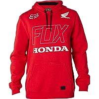 Sudadera Con Capucha Fox Honda Dark Rojo (L , Rojo)