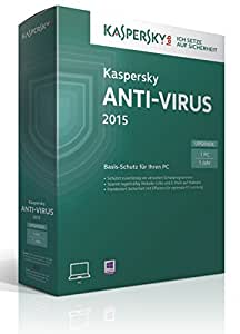 Kaspersky Anti-Virus 2015 Upgrade - 1 PC (Lizenzkarte)