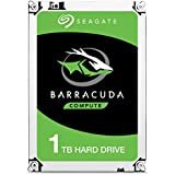 "Seagate Barracuda - 1 TB internal hard drive (3.5 "", 64 MB SATA cache from 6 GB / s up to 210 MB / s), silver,ST1000DM010"