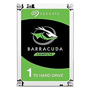 interno: Seagate BarraCuda - Disco duro interno de 1 TB (2,5', 7 mm, 128 MB de caché SATA...