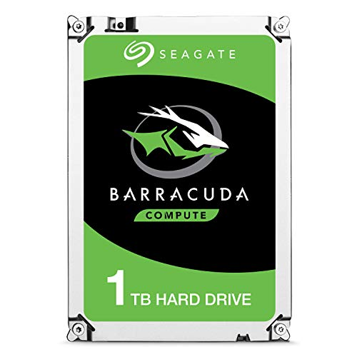 Seagate Barracuda - Disco Duro Interno de 1 TB 3