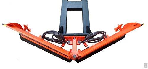 Gabelstapler Vario Schneeschild V 225 cm hydraulisch Schneeschieber Winterdienst