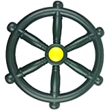 HIKS Pirate Ship Steering Wheel 30cm, Ideal For Kids Childrens Climbing Frame, Tree House & Play House (Available In Blue, Red & Green)