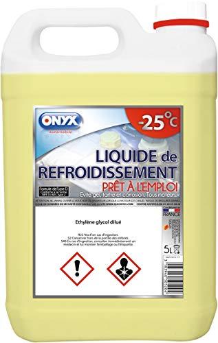 LIQUIDE de REFROIDISSEMENT -25° (MEG) - 5 Litres