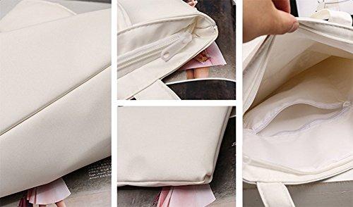 Westeng, Borsa tote donna, White (bianco) - NUCC140802RN73X99 White