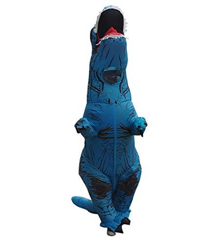 Jurassic Park T Rex Kostüm Aufblasbar - ASKK Aufblasbares Dinosaurier Maskottchen Kostüm, T