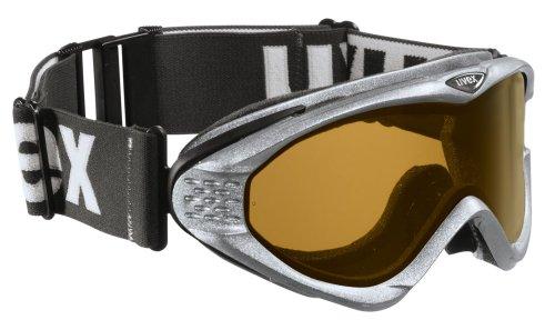 Uvex Onyx Pola - Skibrille / Schneebrille, Farbe: silver mat