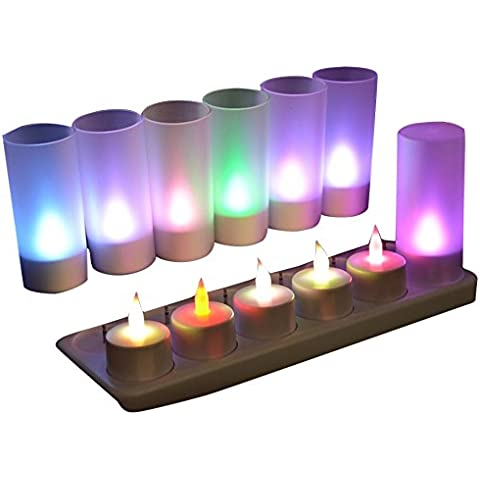 Zen Light XLR 12M Set de 12 velas recargable Multicolor