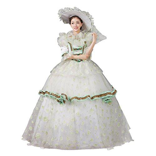 Cosplayitem Damen Mädchen Lagerter Gothic viktorianischen Kleid Kostüm Abendkleid Palace Maskerade Königin Prinzessin Kleid