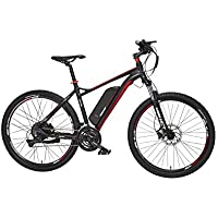 "FISCHER E-Bike MOUNTAINBIKE EM 1726, 27,5 Zoll, Hinterradmotor 48 V/422 Wh ""Powered by BAFANG"" und Shimano Deore-Schaltwerk"