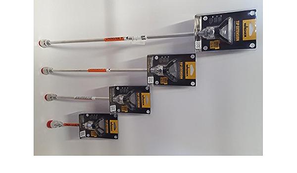 Rallonge avec support 7//8/G Buse de Wagner de Tina tzlanze filetage pour pistolets projet/é TPRO diff/érentes tailles
