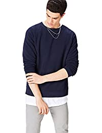 find. Men's Cotton Raglan Crew Neck Sweatshirt