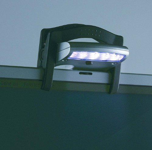 Usb-tastatur-anschluss (Laptop LED Klemmleuchte mit USB Anschluß)