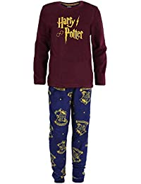 Harry Potter Pijama de Lana, Color Burdeos