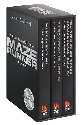 Maze Runner-Trilogie - Die Auserwählten: Schuber mit Bonusmaterial (Die Auserwählten – Maze