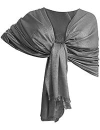 Amazon.it  Coprispalle grigio - Sciarpe   Sciarpe e stole  Abbigliamento 7f9b8eb2b65f