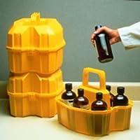 Thomafluid Transportbehälter aus LDPE, Anzahl Flaschen: 6