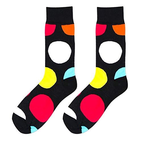 Preisvergleich Produktbild Anglerfish Baumwolle Herren Socken Wintersocken Stricksocken Patterned Kalbsocken Winter Herbst Outdoor Skateboard Sport Socken (B)