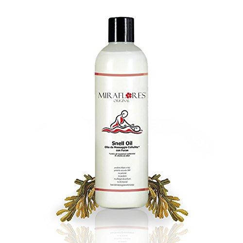 Olio per massaggi terapeutici e anticellulite 500 ml, contrasta inestetismi epidermici correlati a cellulite e ritenzione idrica.