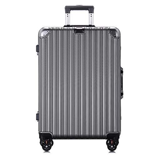 Rollende Laptop-Tasche, Kabinenkoffer Leichtes ABS + PC Neue Handgepäck-Taschen 4 Spinner Wheels Trolley (20/22 Zoll), für Damen -