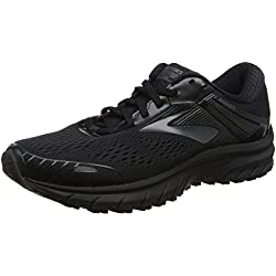 Brooks Adrenaline GTS 18, Scarpe da Running Uomo, Nero Black 026, 42.5 EU