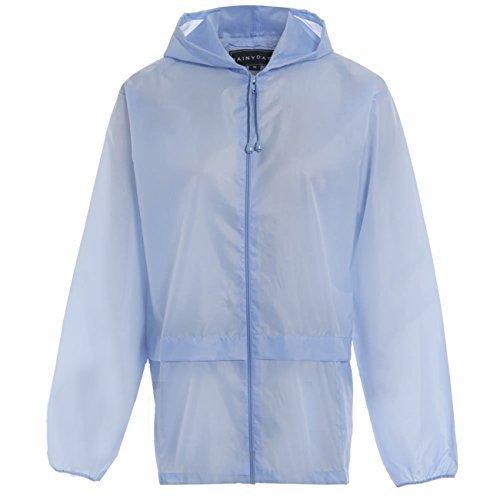 Hari Deals Boys Girls Waterproof Light Kagoul Raincoat Jacket 4-16 Years