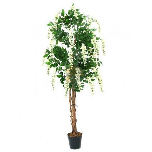 Euro Palms 82507105 Goldregenbaum 150 cm, weiß