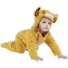 Rubies Disney El rey león Simba Traje Niño, sobretodo con capucha, ...