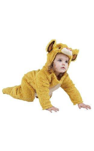 Disney Simba König der Löwen Kostüm. Baby 18-24 Monate. Furry einteilige Overall.