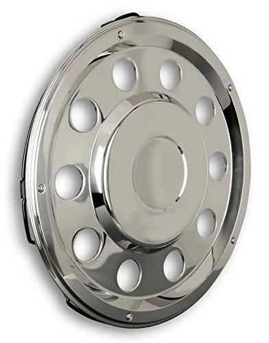 Enjoliveur de roue 22,5 '' pour camion – Pour essieu arrière – droit – Compatible MAN MP2 MP3 F2000 M2000 TGA TG-A TGL TG-L TGX TG-X TGS TG-S LE ME TGM