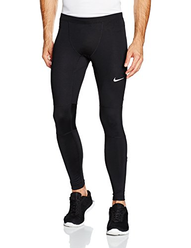 Nike Nike Df Essential Tight Leggings - Nero (Nero / Argento ) - XL