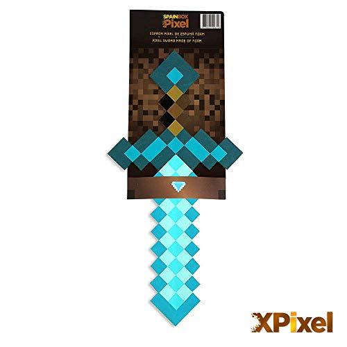Spainbox Pixel Schwert aus Schaumstoff - Diamant