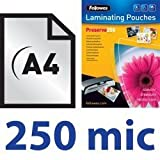 100x DIN A4, 250 mic, 2x 250Mic Laminating Film - Best Reviews Guide