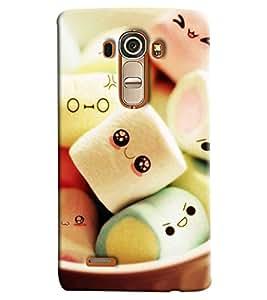 Omnam Sugar Gum Printed Designer Back Cover Case For LG G4
