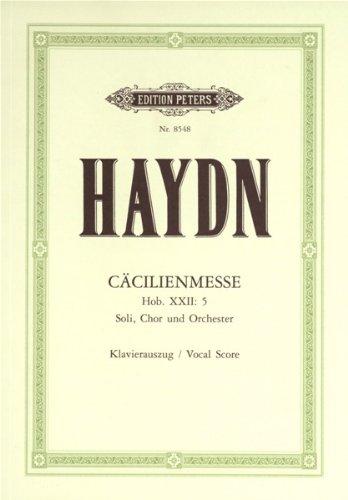 Download Missa Sanctae Caeciliae Hob 22/5 (Caecilienmesse). Klavierauszug
