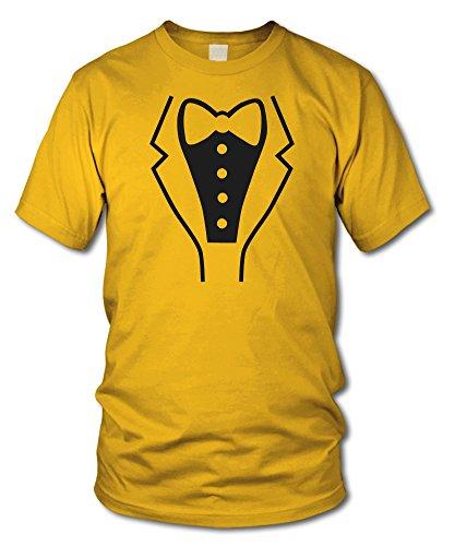 shirtloge - SMOKING - Kult T-Shirt - in verschiedenen Farben - Größe S - XXL Gelb