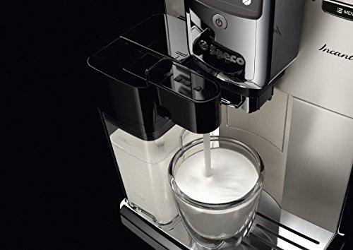 Saeco HD8917/01 Incanto Kaffeevollautomat (1850 Watt, AquaClean, integrierte Milchkaraffe) silber - 8
