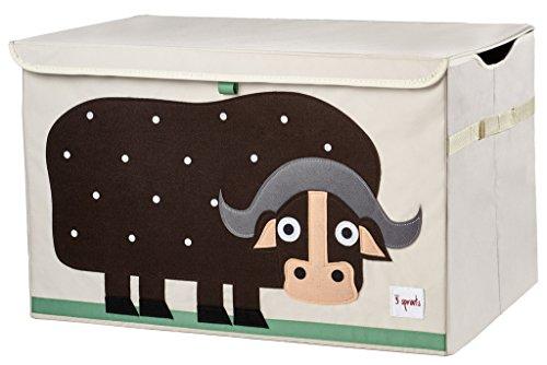 3Sprouts utcbuf Caja para guardar Búfalo, multicolor
